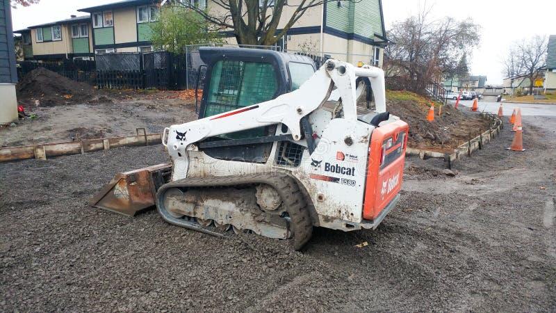 Władzy łopaty budowa w Ottawa mieście fotografia stock