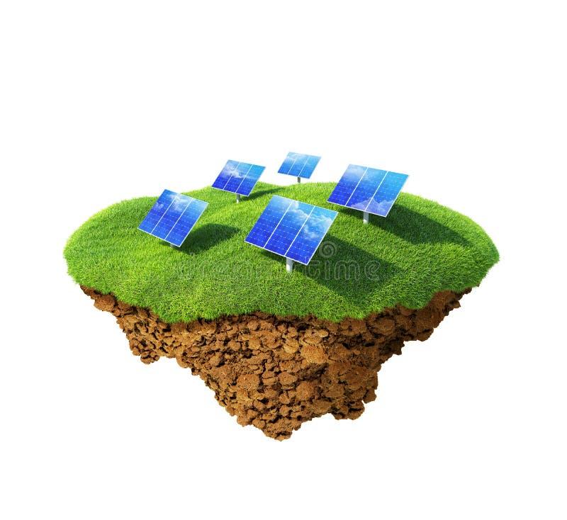 władzy energetyczny słońce ilustracja wektor
