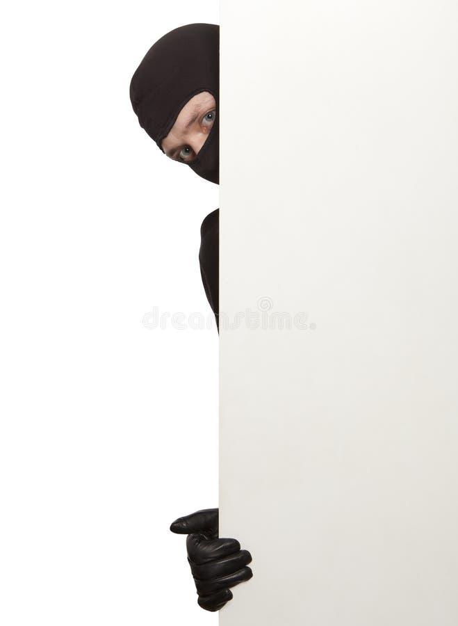 włamywacz zdjęcie stock