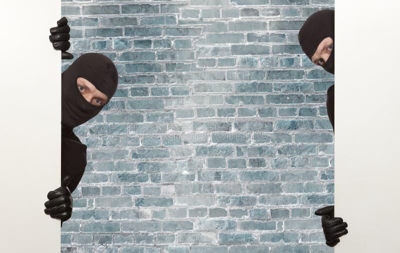 Włamywacz, Ninja obrazy royalty free
