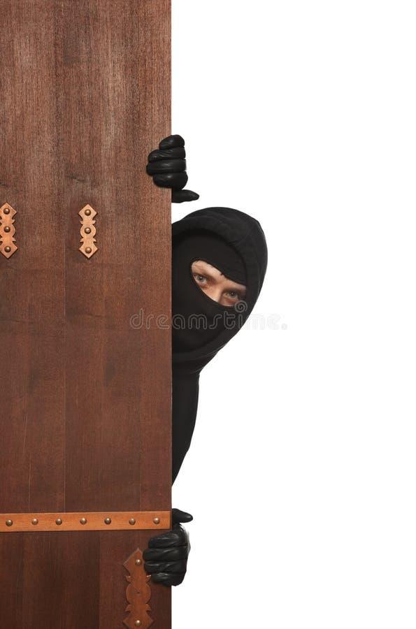 Włamywacz, Ninja, rabuś zdjęcia stock