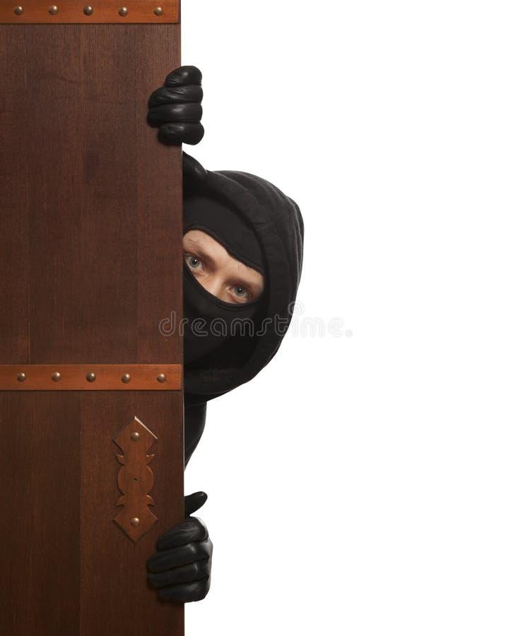 Włamywacz, Ninja, rabuś zdjęcie royalty free