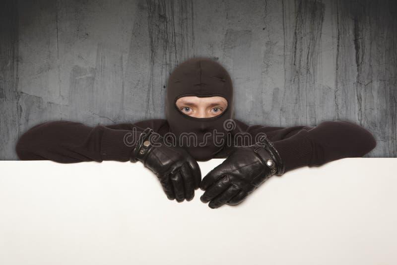 Włamywacz, Ninja, rabuś obraz stock