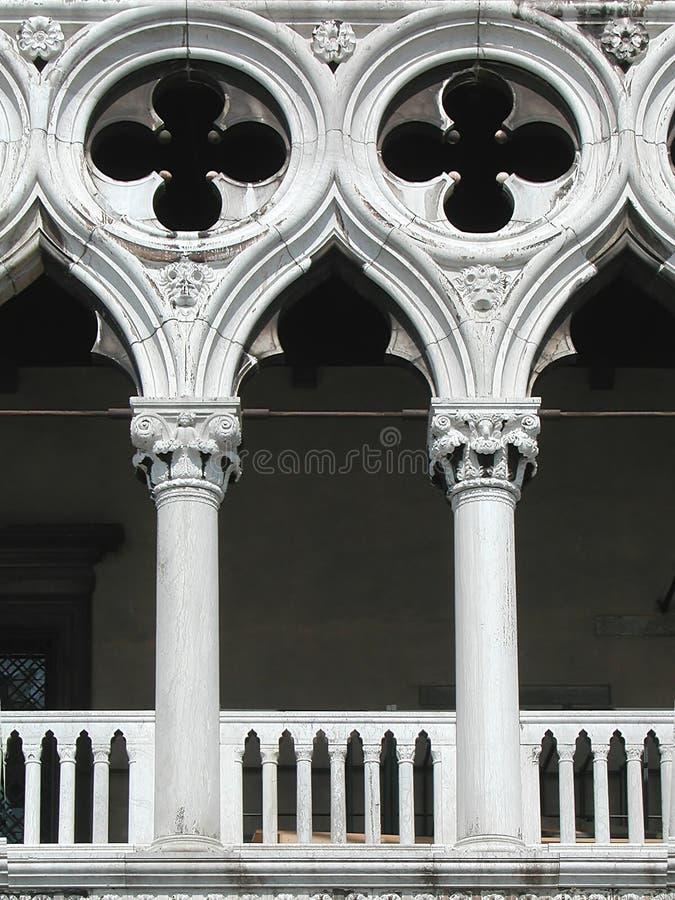 Włoch doży pałacu Wenecji zdjęcie royalty free