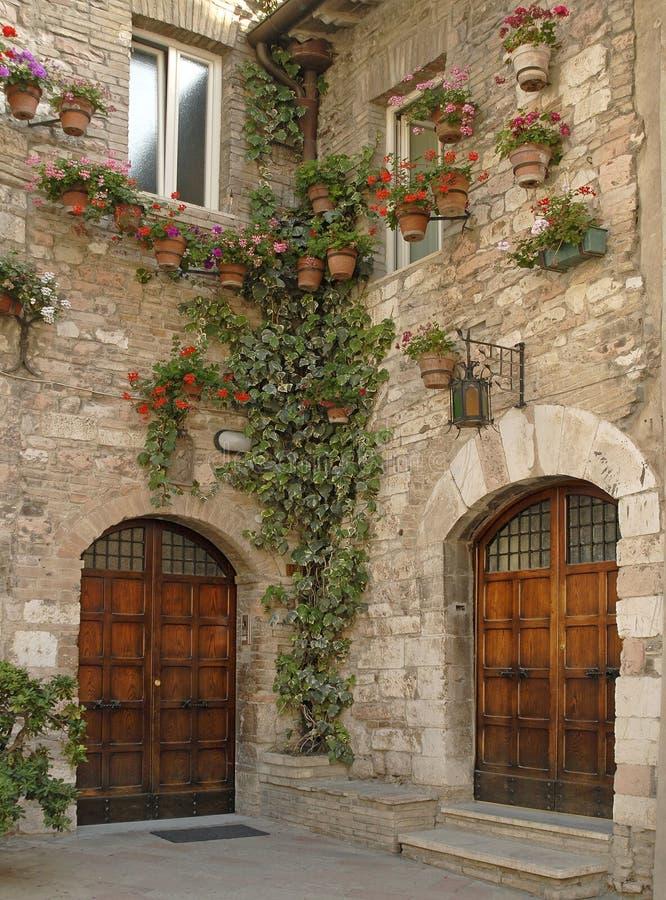 Włoch z asyżu zdjęcie royalty free