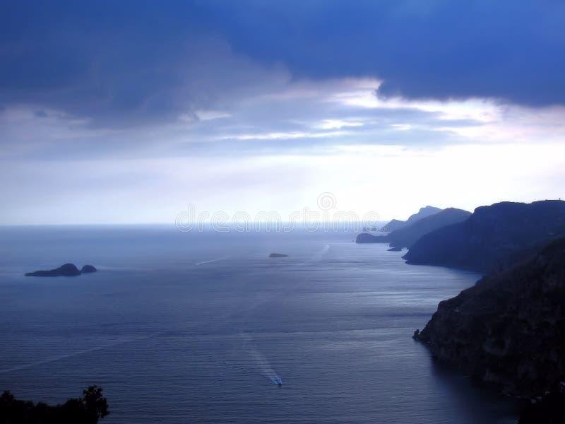 Włochy, Amalfi wybrzeże - fotografia royalty free