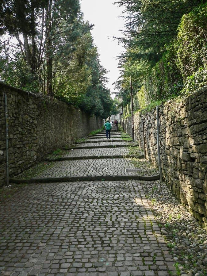 Włochy Bergamo obrazy royalty free