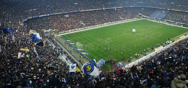 włochy meazza stadion Milan fotografia stock