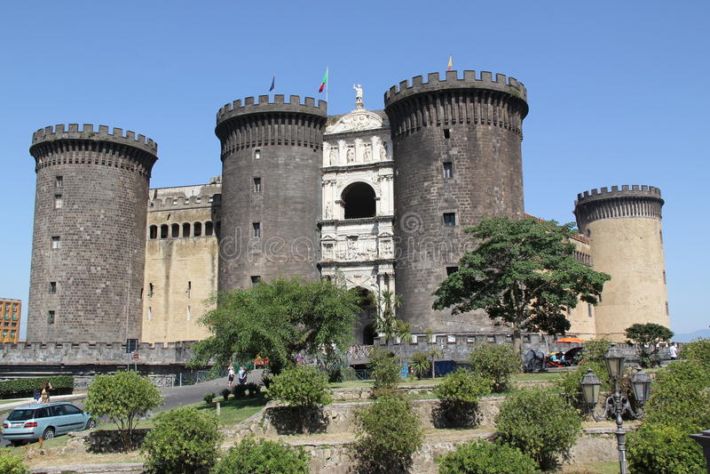 Włochy, Naples obrazy royalty free