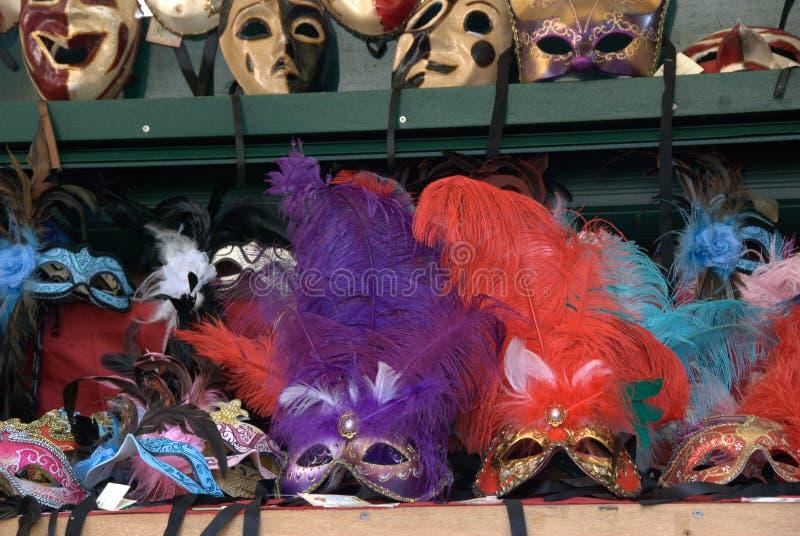 Włochy, Rzym karnawałowe zabawy wakacje maski zdjęcie stock