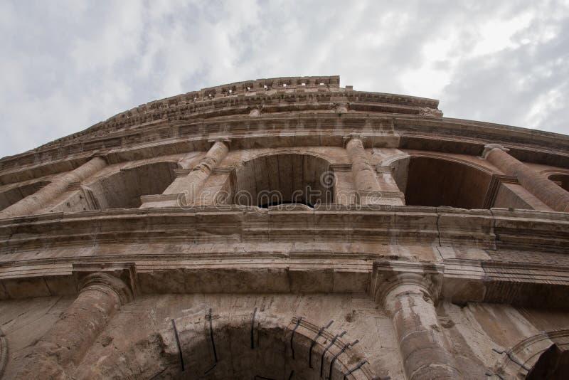 Włochy, Rzym, kolosseum, architektura, budynek, budowy fotografia stock
