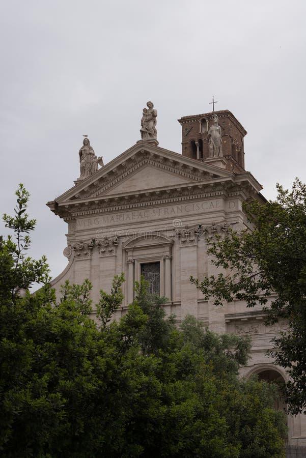 Włochy, Rzym, kolosseum, architektura, budynek, budowy obraz stock