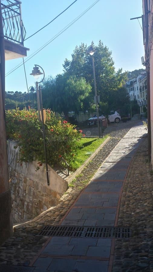 Włochy ulica zdjęcie stock