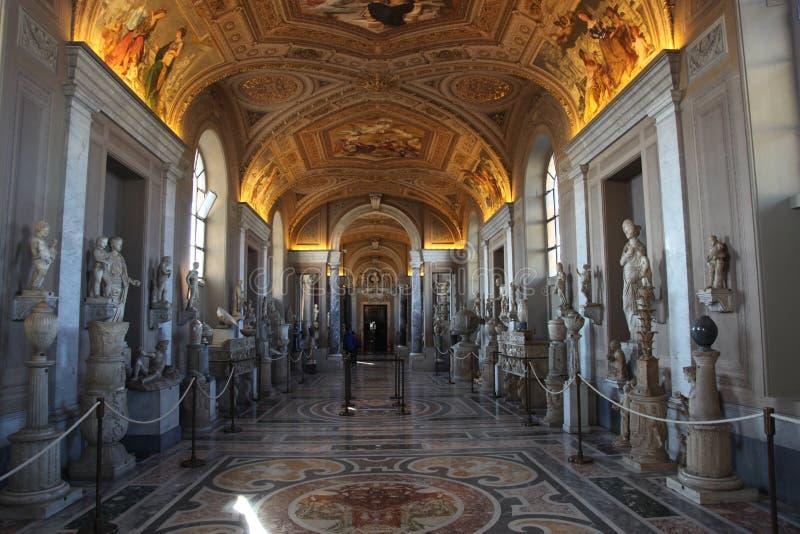 Włochy Watykańscy muzea zdjęcie royalty free