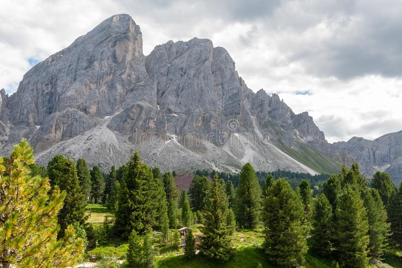 Włoscy dolomity zdjęcie royalty free