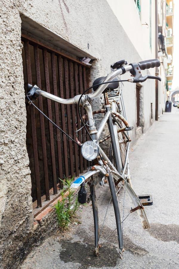 Włoscy w starym stylu bicykle fotografia royalty free