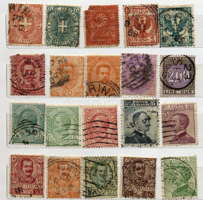 włoscy znaczki obrazy royalty free