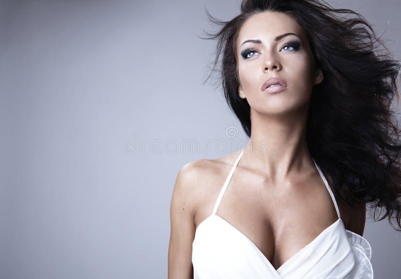 włosiana wspaniała kobieta fotografia royalty free
