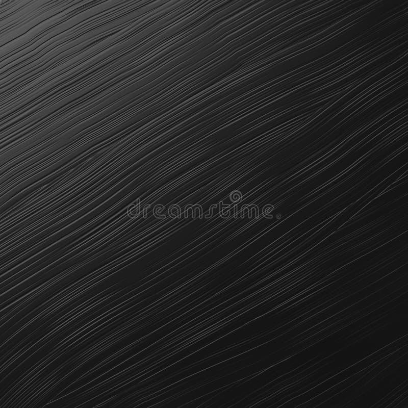 Włosianego muśnięcia czerni metalu tekstura obraz stock