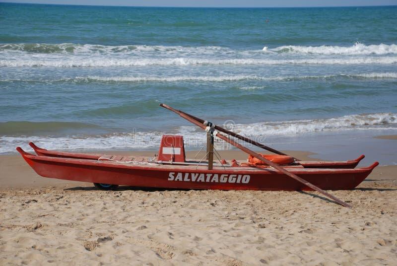 Włoska życie łódź obraz stock