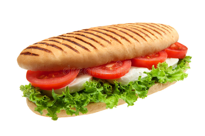 włoska kanapka fotografia stock