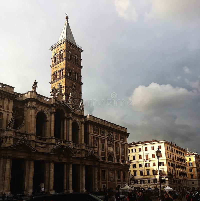 Włoska katedra fotografia royalty free