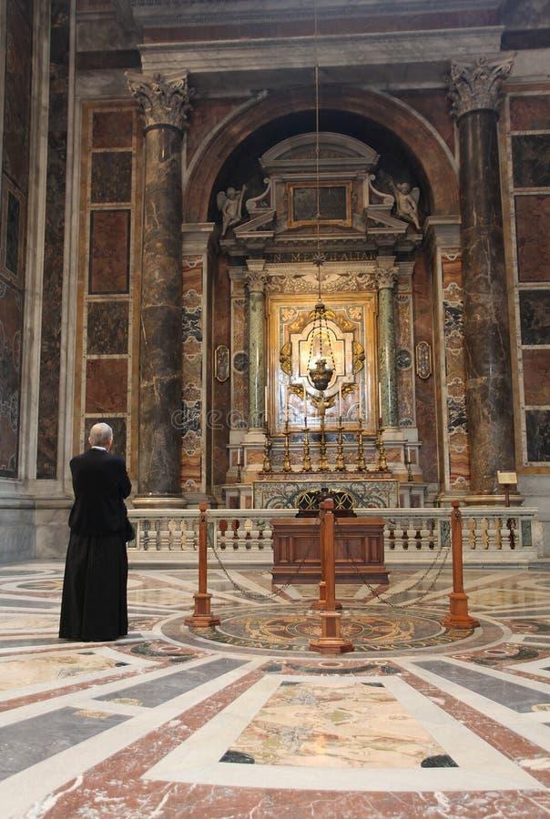 Włoska Kościelna architektura obrazy royalty free