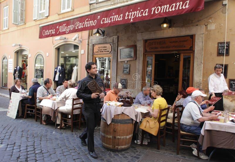 włoska restauracja fotografia royalty free