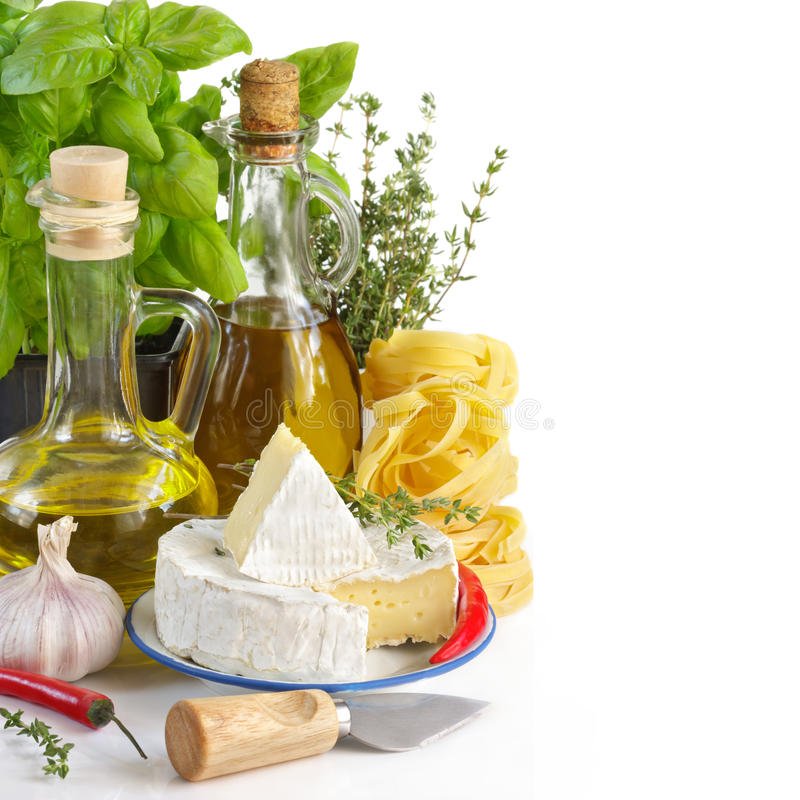 Włoski jedzenie. obrazy stock