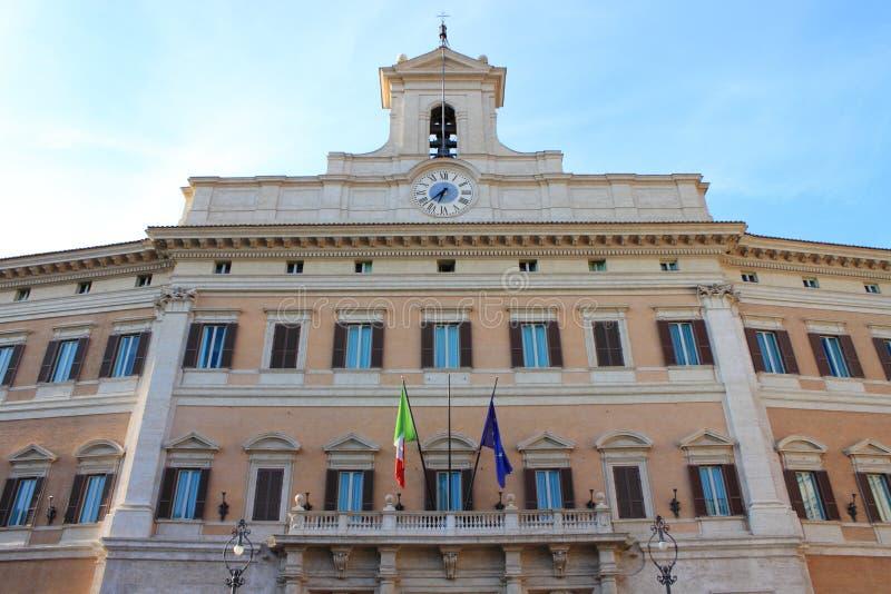 włoski parlament zdjęcie royalty free