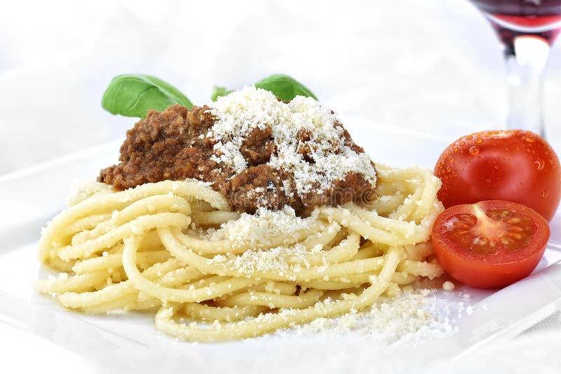 Włoski spaghetti bolończyk III obrazy royalty free