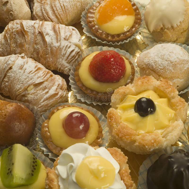 włoskie ciasto zdjęcia stock