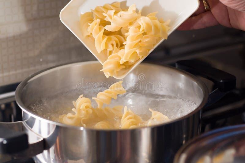 włoskie jedzenie makaronu makaron obraz stock