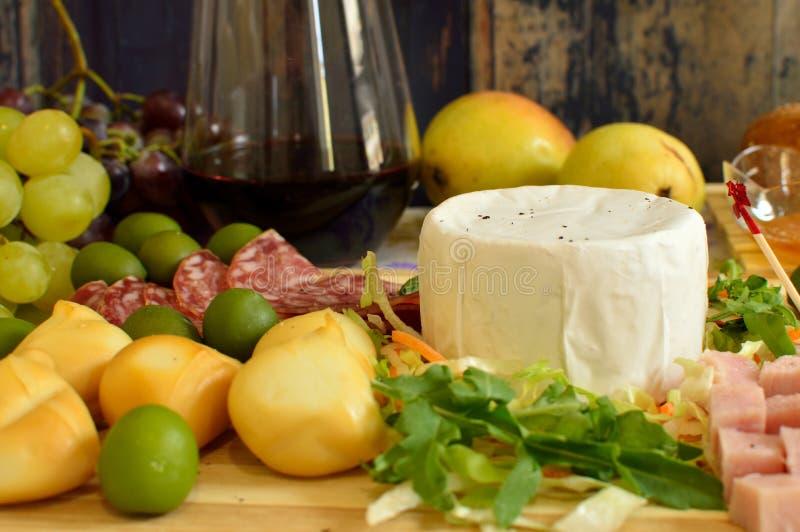 włoskie sery obrazy stock