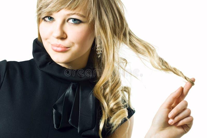 włosy silny zdjęcie stock