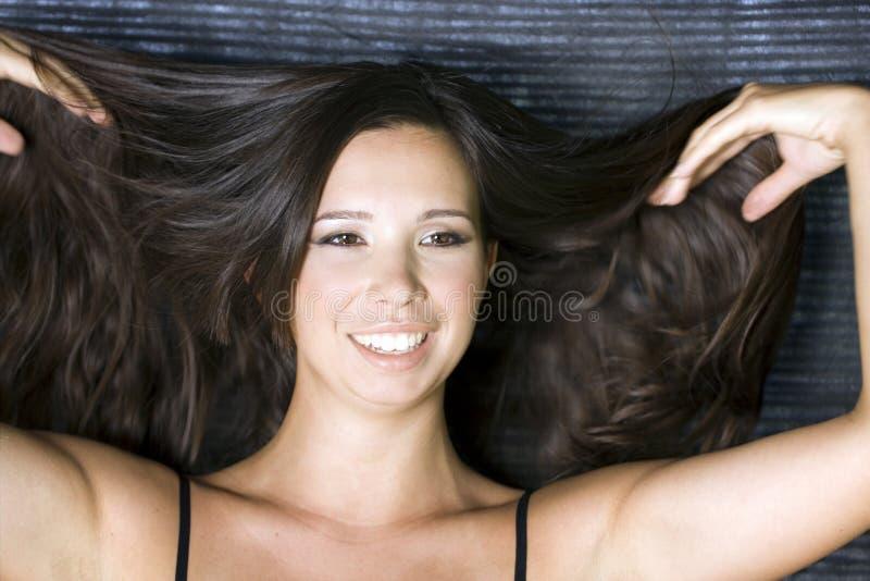 włosy tęsk obraz royalty free