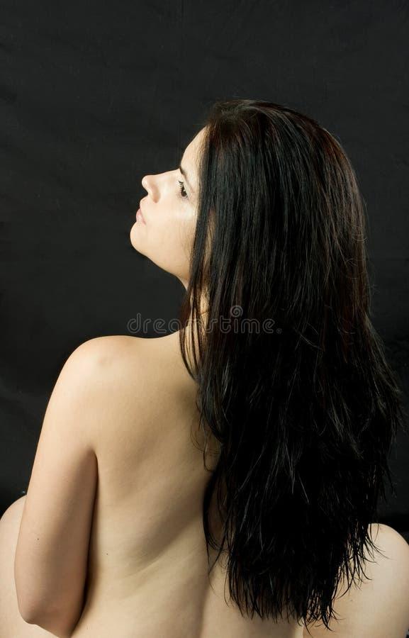 włosy tęsk fotografia stock