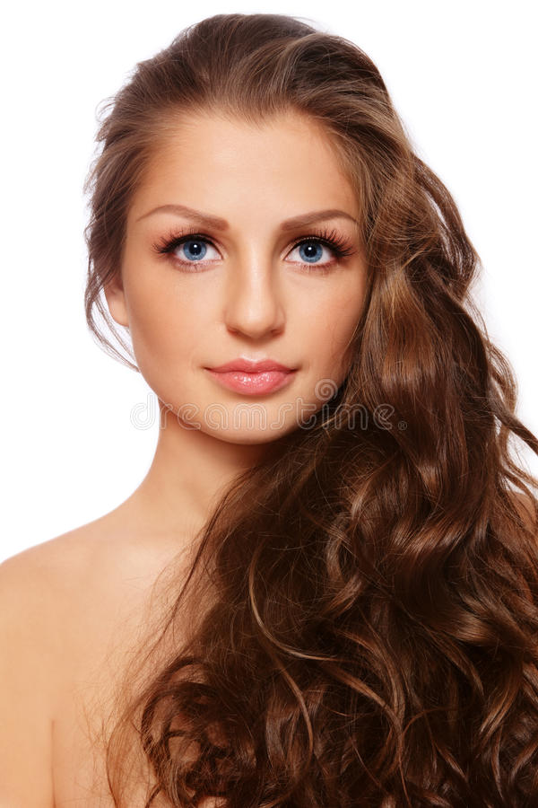 włosy zdrowy zdjęcie royalty free