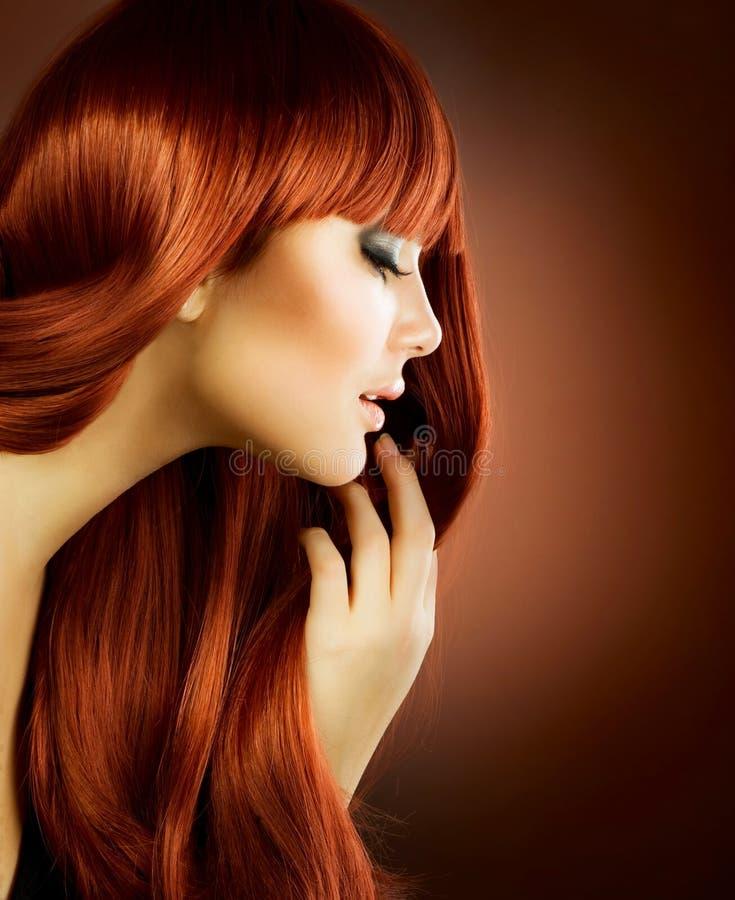 włosy zdrowy fotografia stock