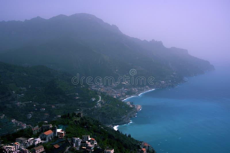 Włoszczyzny wybrzeże zdjęcie royalty free