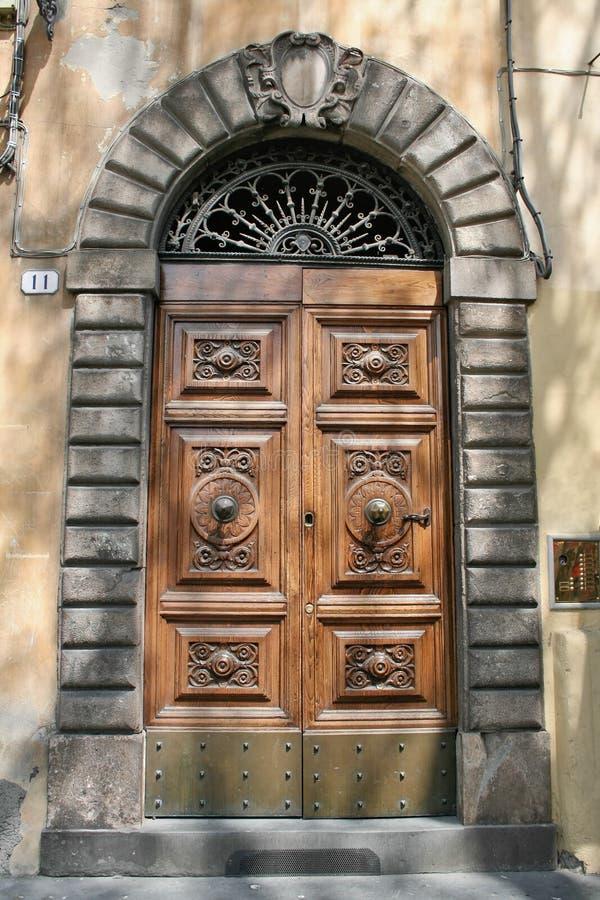 we włoszech drzwi obraz royalty free