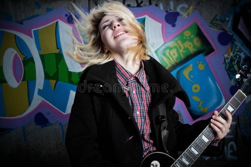 wściekłości gwiazda rocka fotografia stock