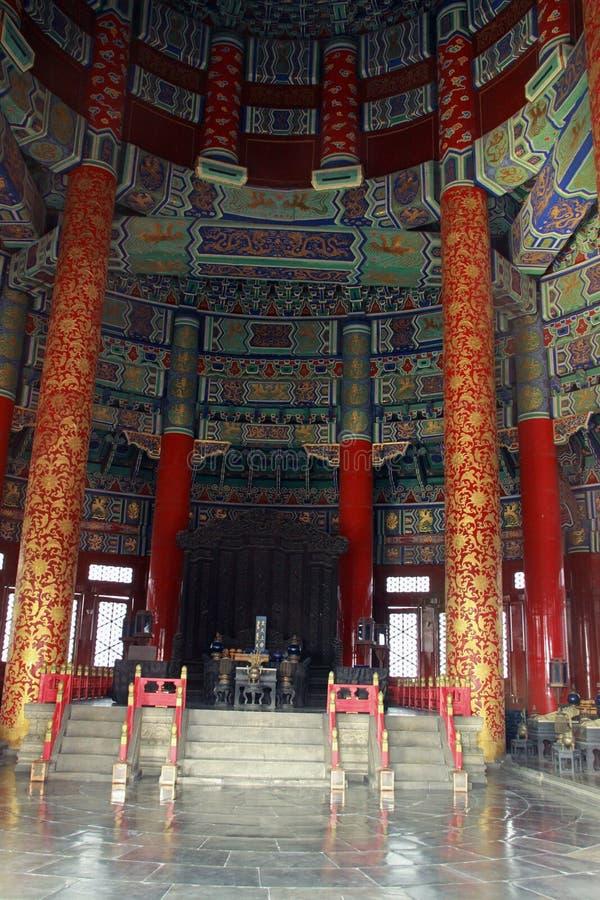 Download Wśrodku świątyni niebo zdjęcie stock. Obraz złożonej z dobry - 57674072