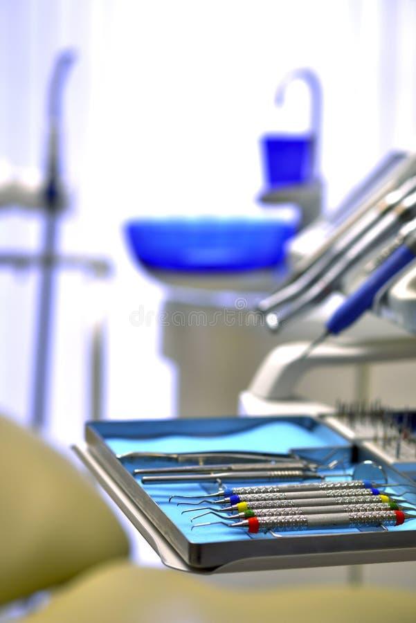 Wśrodku dentysta karetki obrazy royalty free