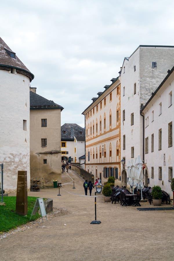 Wśrodku Hohensalzburg, Salzburg, Austria zdjęcie royalty free