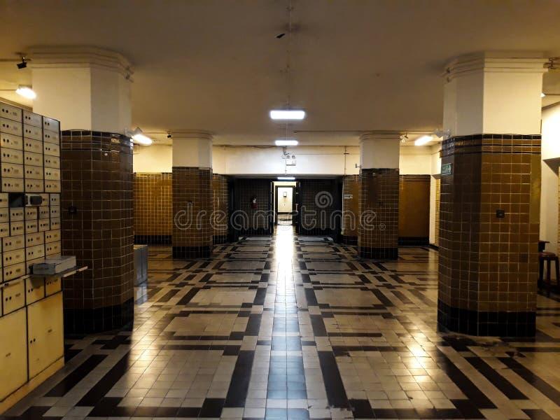 Wśrodku jeden pokoje Mandiri muzea w Dżakarta, Mandiri muzeum otwierał obrazy royalty free