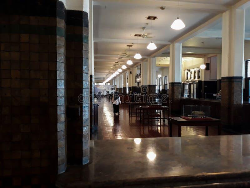 Wśrodku jeden pokoje Mandiri muzea w Dżakarta, Mandiri muzeum otwierał zdjęcie royalty free