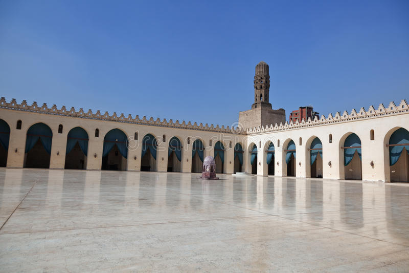 Egipski meczet fotografia royalty free