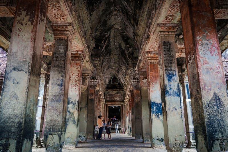 Wśrodku korytarzy obrazy stock
