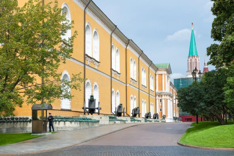 Wśrodku Kremlin zdjęcie stock
